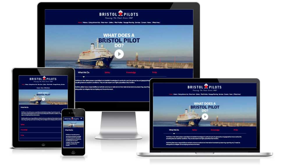 Bristol Pilots | New Website | Buzz Web Consultancy | Web Design Services