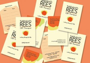 Sarah D Rees Branding Logo and Graphic Design