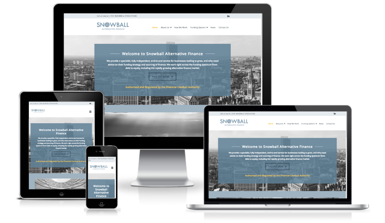 Snowball Alternative Finance Website